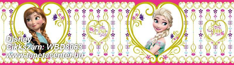 Gyerek,fehér,lila,pink-rózsaszín,zöld,anyagában öntapadós bordűr