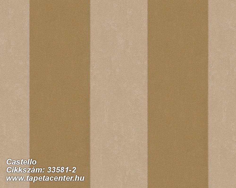 Csíkos,dekor,különleges felületű,különleges motívumos,plüss felületű,velúr felületű,arany,bézs-drapp,illesztés mentes,vlies tapéta