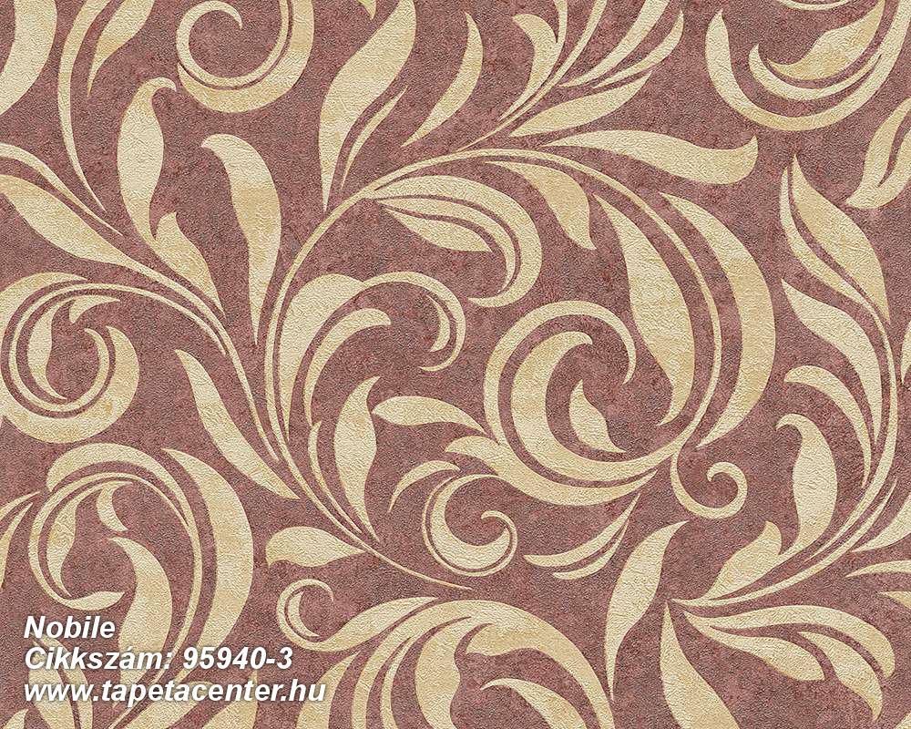 Barokk-klasszikus,különleges felületű,természeti mintás,barna,bézs-drapp,vajszín,vlies tapéta