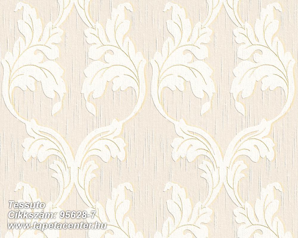 Barokk-klasszikus,különleges motívumos,természeti mintás,valódi textil,virágmintás,fehér,pink-rózsaszín,gyengén mosható,vlies tapéta