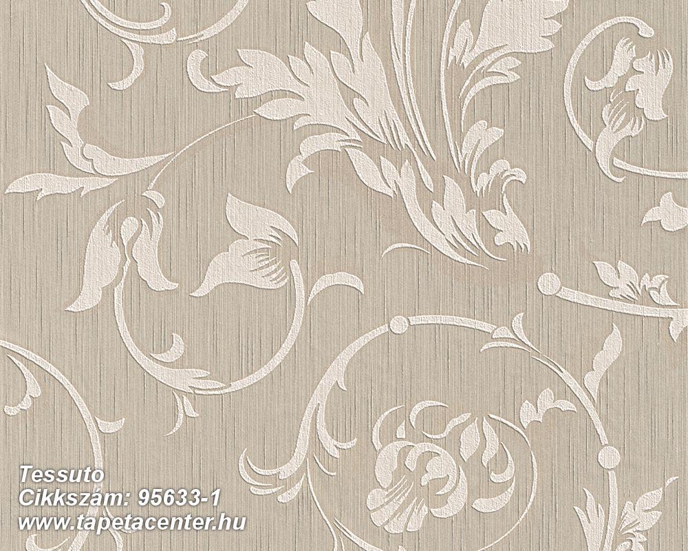 Különleges motívumos,természeti mintás,valódi textil,virágmintás,barna,bézs-drapp,pink-rózsaszín,gyengén mosható,vlies tapéta