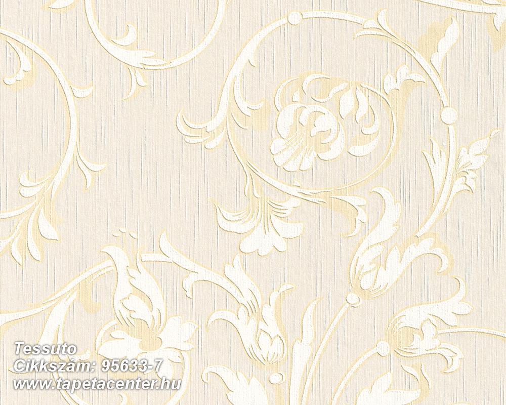 Különleges motívumos,természeti mintás,valódi textil,virágmintás,fehér,narancs-terrakotta,pink-rózsaszín,gyengén mosható,vlies tapéta