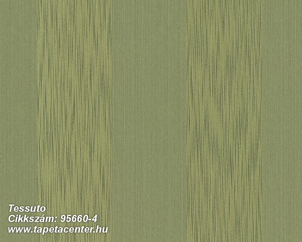 Csíkos,különleges motívumos,valódi textil,zöld,gyengén mosható,illesztés mentes,vlies tapéta