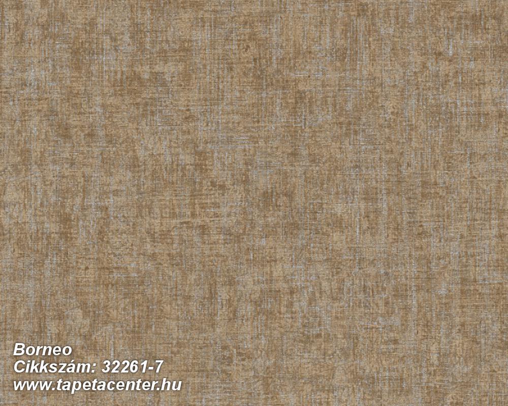 Különleges felületű,barna,súrolható,illesztés mentes,vlies tapéta