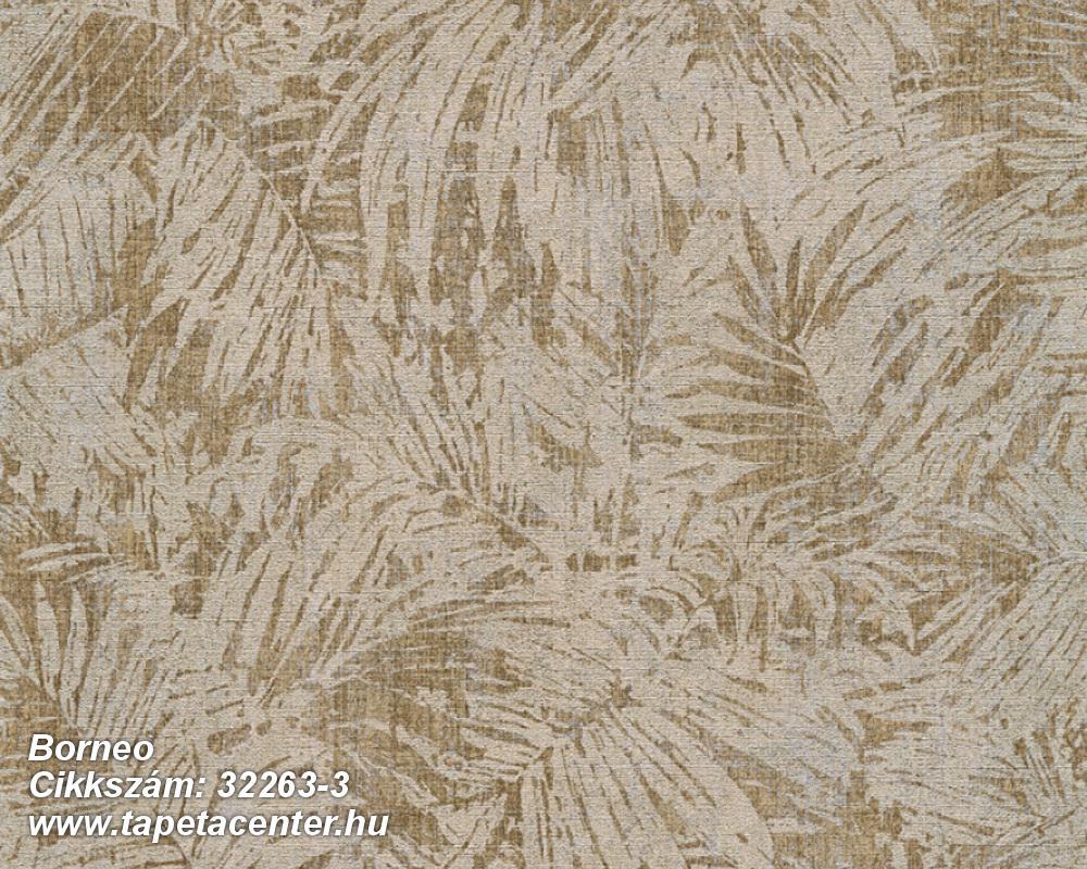 Különleges felületű,metál-fényes,természeti mintás,barna,zöld,súrolható,vlies tapéta