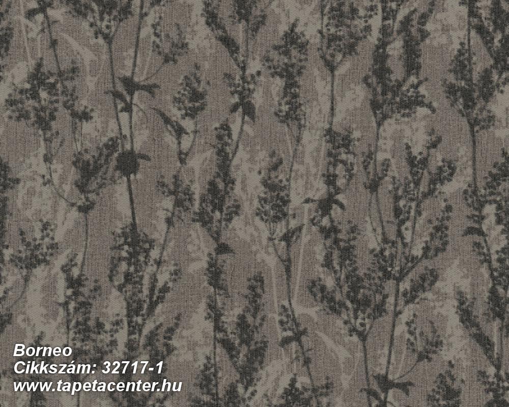 Különleges felületű,különleges motívumos,természeti mintás,barna,bézs-drapp,súrolható,vlies tapéta