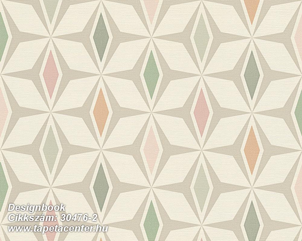 3d hatású,absztrakt,geometriai mintás,gyerek,különleges felületű,különleges motívumos,rajzolt,retro,bézs-drapp,fehér,kék,narancs-terrakotta,pink-rózsaszín,szürke,zöld,súrolható,vlies tapéta