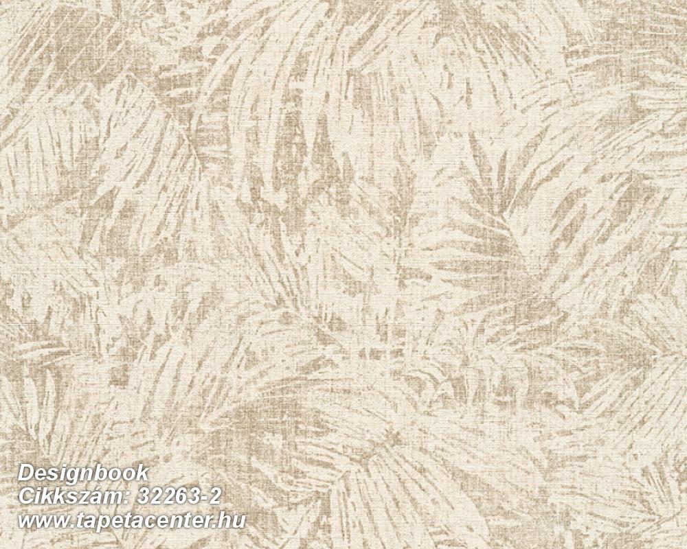 Természeti mintás,barna,bézs-drapp,súrolható,vlies tapéta