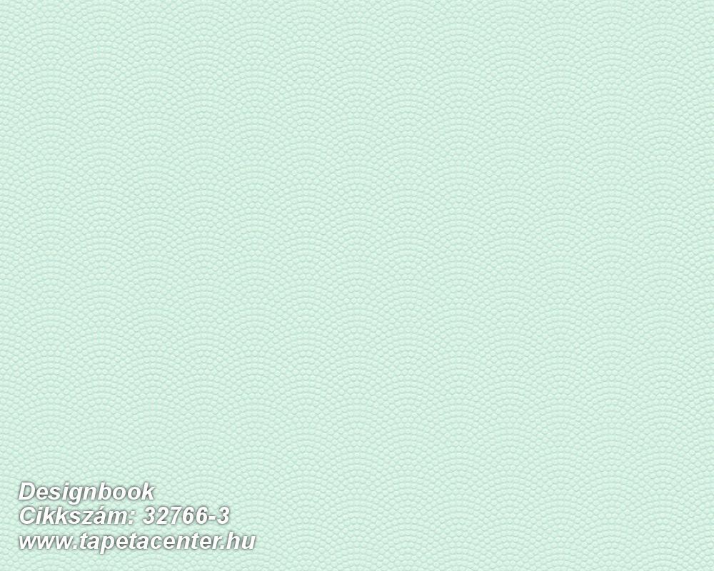 Geometriai mintás,pöttyös,türkiz,zöld,lemosható,vlies tapéta