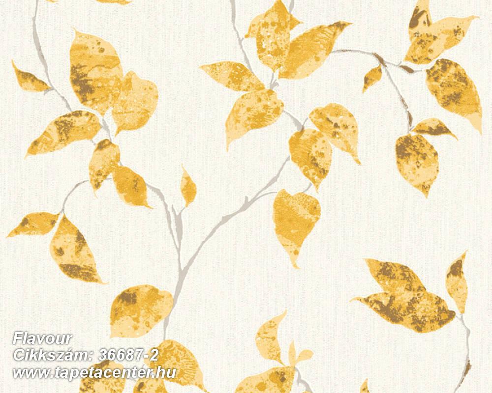Különleges felületű,metál-fényes,természeti mintás,arany,fehér,sárga,szürke,lemosható,vlies tapéta