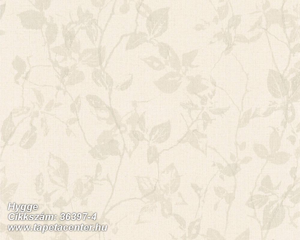 Természeti mintás,textilmintás,bézs-drapp,lemosható,vlies tapéta