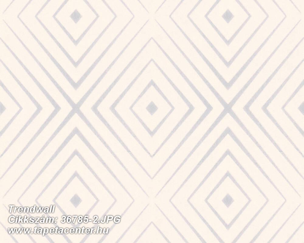 3d hatású,geometriai mintás,ezüst,fehér,szürke,súrolható,vlies tapéta