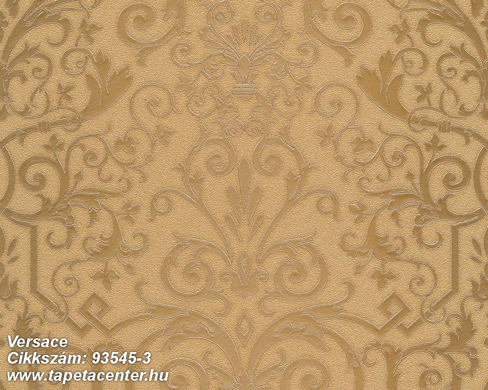 Barokk-klasszikus,arany,súrolható,vlies tapéta