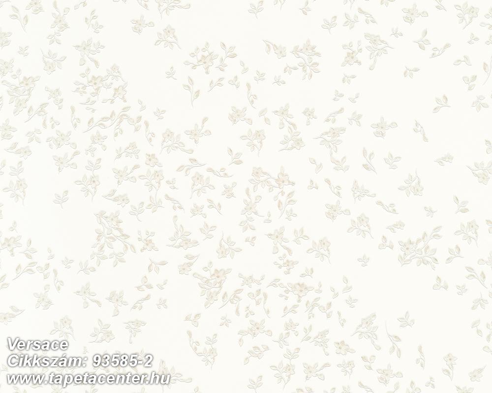Virágmintás,természeti mintás,fehér,vajszín,súrolható,vlies tapéta