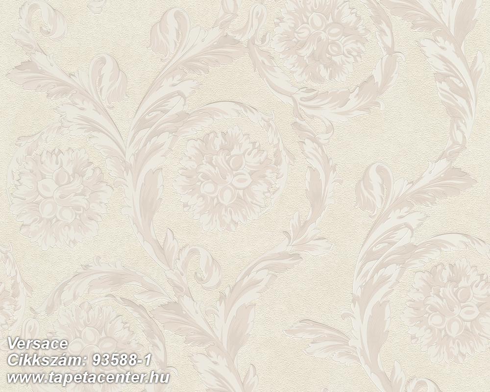 Barokk-klasszikus,szürke,bézs-drapp,súrolható,vlies tapéta