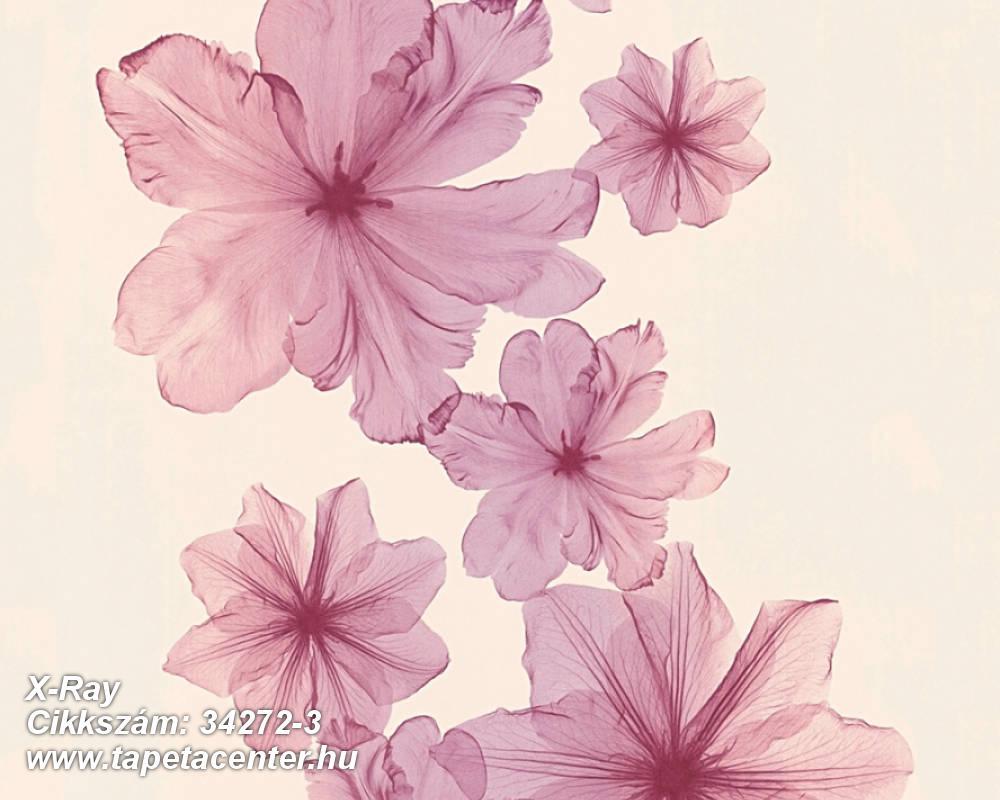 Absztrakt,dekor,gyerek,különleges felületű,különleges motívumos,rajzolt,természeti mintás,virágmintás,bézs-drapp,lila,pink-rózsaszín,piros-bordó,súrolható,illesztés mentes,vlies tapéta