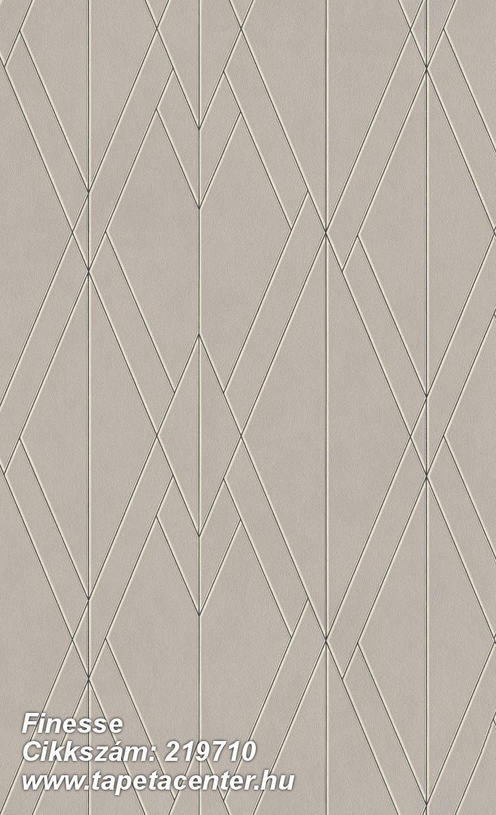 Absztrakt,geometriai mintás,különleges felületű,bézs-drapp,fekete,gyöngyház,lemosható,vlies tapéta
