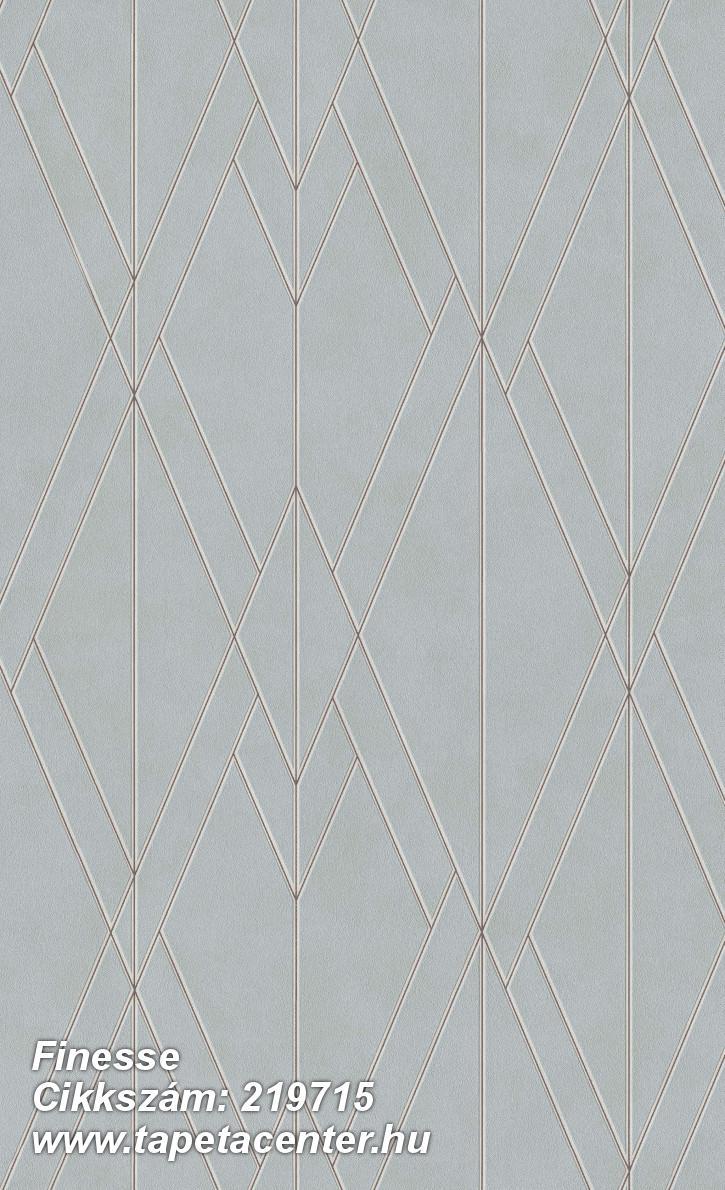 Absztrakt,geometriai mintás,különleges felületű,barna,ezüst,kék,lemosható,vlies tapéta
