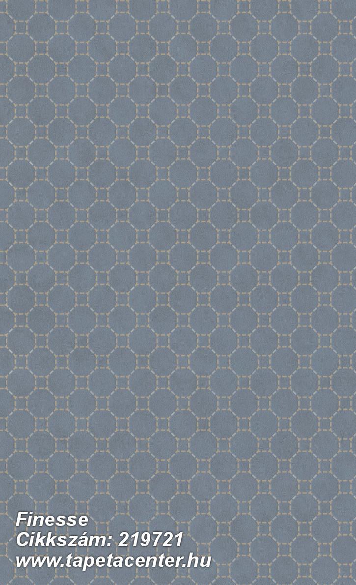 Absztrakt,geometriai mintás,különleges felületű,ezüst,kék,narancs-terrakotta,lemosható,vlies tapéta