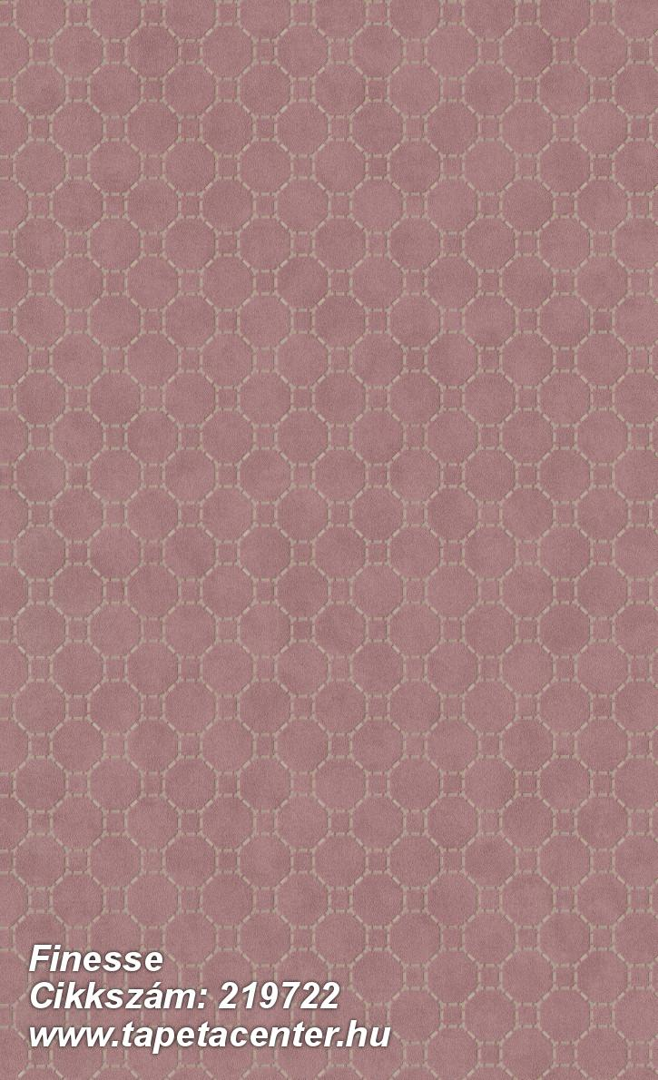Absztrakt,geometriai mintás,különleges felületű,bézs-drapp,piros-bordó,lemosható,vlies tapéta