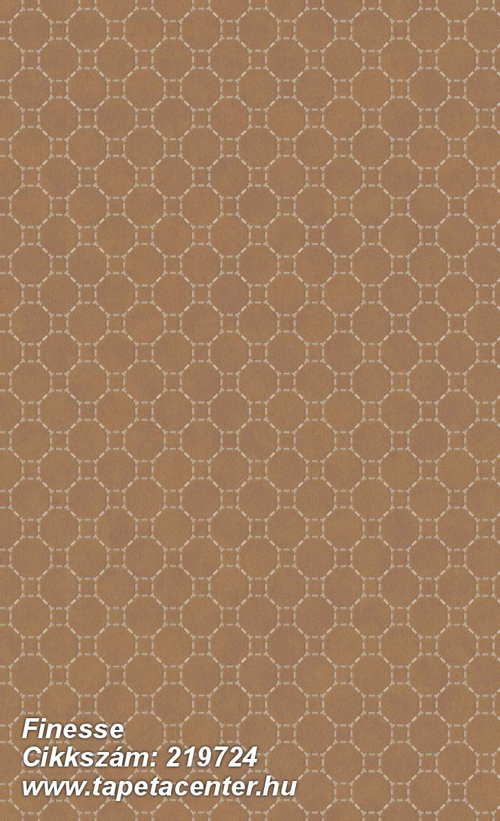 Absztrakt,geometriai mintás,különleges felületű,gyöngyház,narancs-terrakotta,lemosható,vlies tapéta