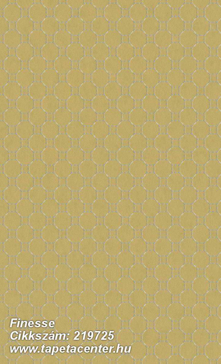 Absztrakt,geometriai mintás,különleges felületű,ezüst,sárga,szürke,lemosható,vlies tapéta