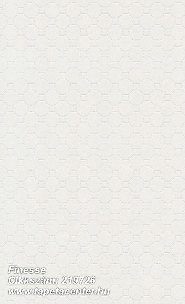 Absztrakt,geometriai mintás,különleges felületű,fehér,gyöngyház,lemosható,vlies tapéta
