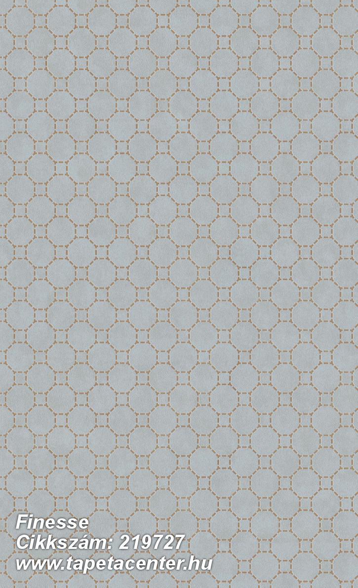 Absztrakt,geometriai mintás,különleges felületű,bézs-drapp,kék,lemosható,vlies tapéta