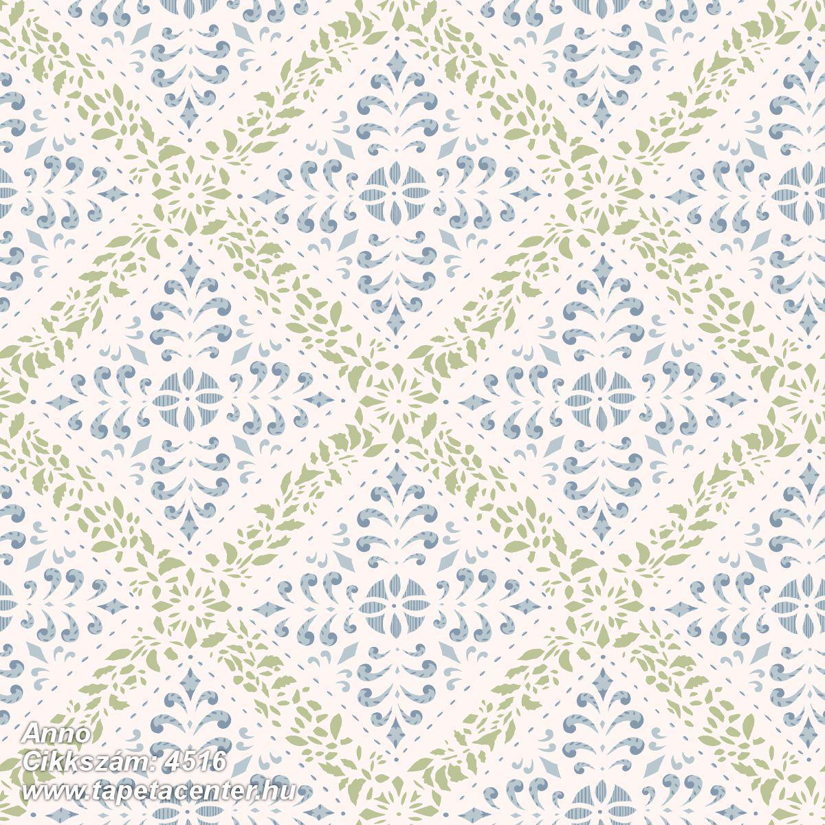 Barokk-klasszikus,különleges motívumos,rajzolt,fehér,kék,szürke,zöld,lemosható,vlies tapéta