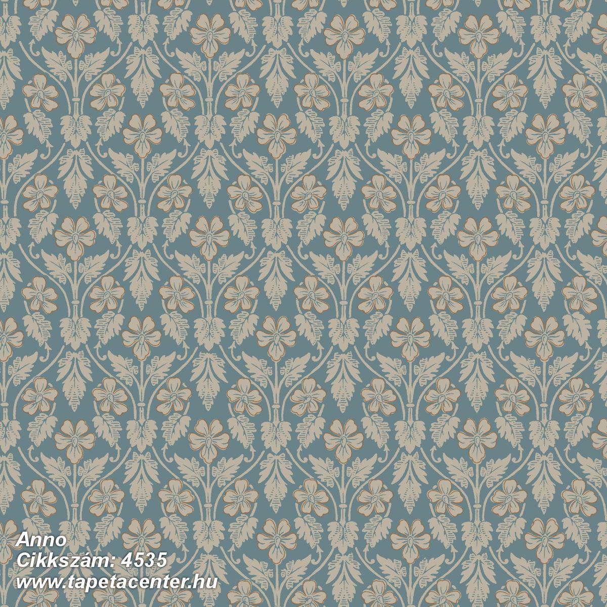 Barokk-klasszikus,barokk-klasszikus,bronz,kék,szürke,lemosható,vlies tapéta
