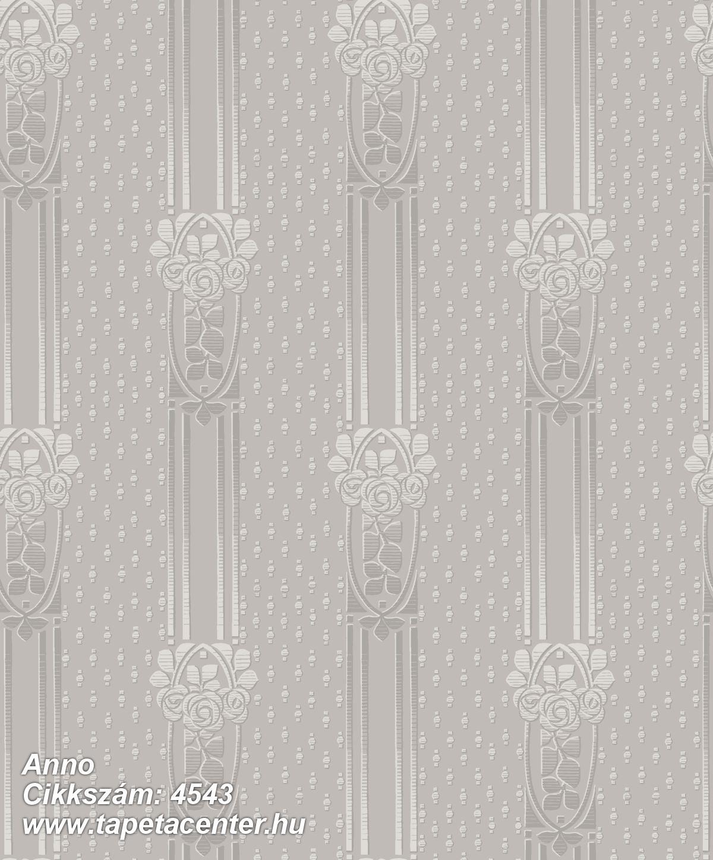Barokk-klasszikus,csíkos,bézs-drapp,lila,lemosható,vlies tapéta