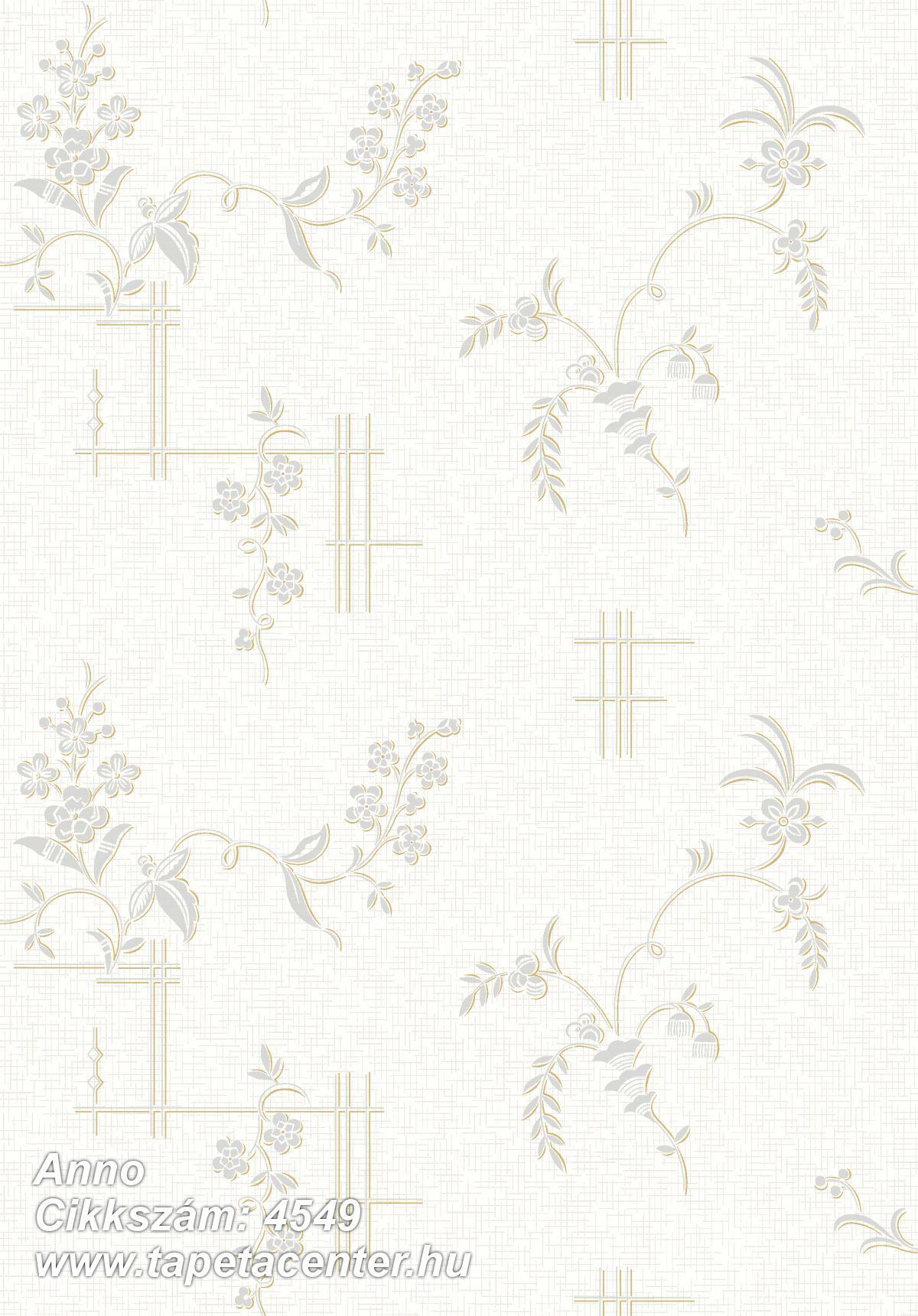 Barokk-klasszikus,természeti mintás,virágmintás,fehér,kék,lila,vajszín,lemosható,vlies tapéta