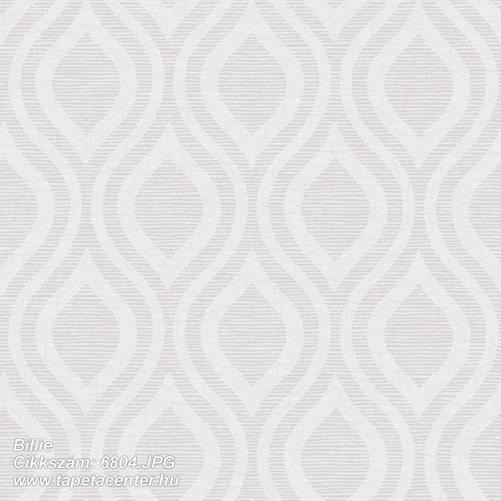 Geometriai mintás,retro,szürke,lemosható,vlies tapéta