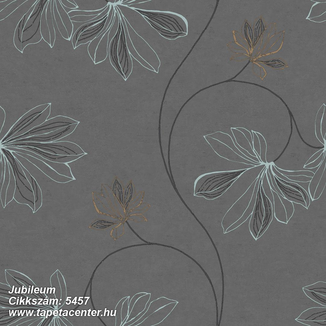 Természeti mintás,virágmintás,arany,barna,fekete,kék,gyengén mosható,vlies tapéta
