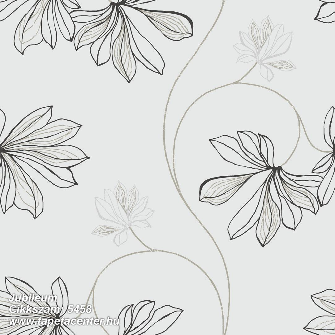 Természeti mintás,virágmintás,barna,fehér,fekete,szürke,gyengén mosható,vlies tapéta
