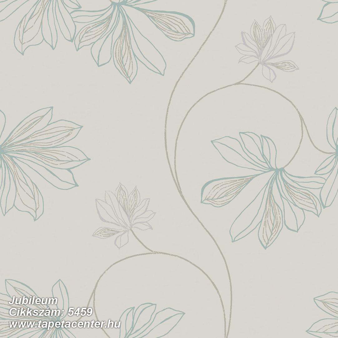 Virágmintás,barna,bézs-drapp,kék,szürke,gyengén mosható,vlies tapéta