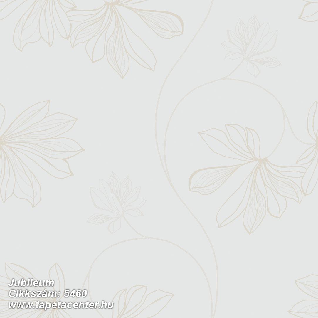 Természeti mintás,virágmintás,barna,fehér,gyengén mosható,vlies tapéta