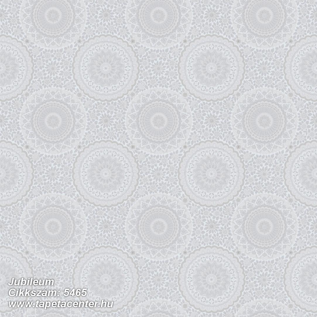Geometriai mintás,retro,virágmintás,fehér,szürke,lemosható,vlies tapéta