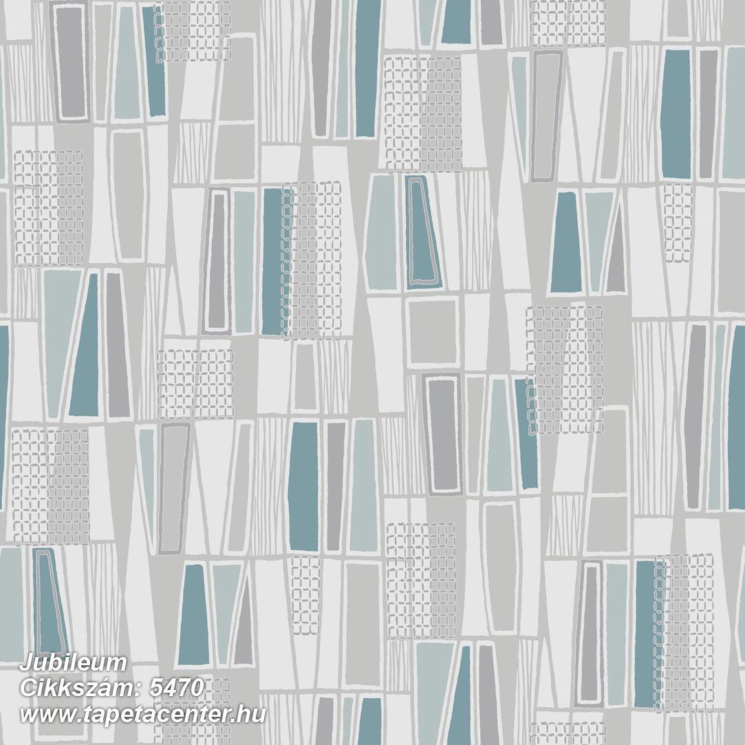 Absztrakt,geometriai mintás,retro,bézs-drapp,fehér,kék,lila,szürke,türkiz,lemosható,vlies tapéta
