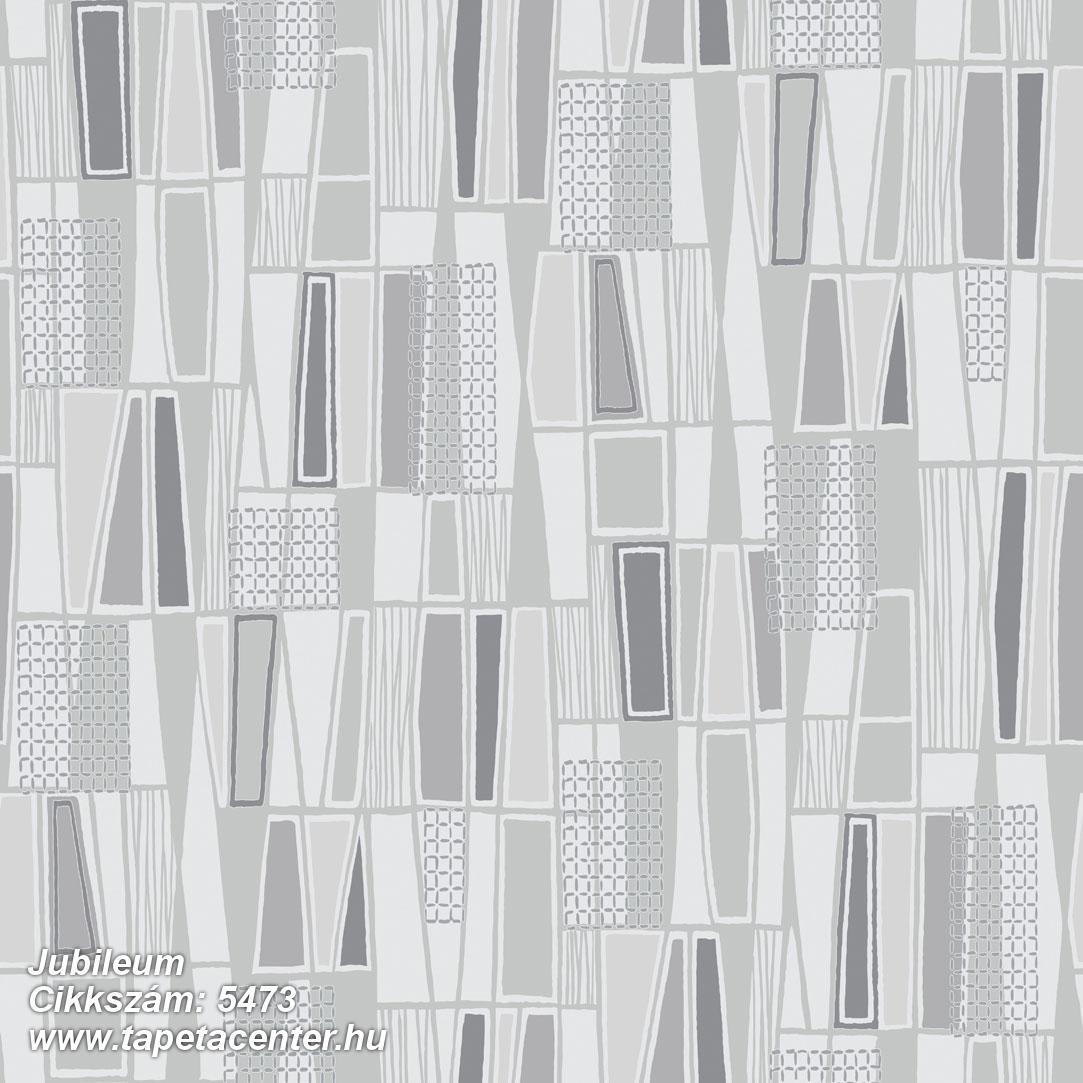 Absztrakt,geometriai mintás,retro,fekete,lemosható,vlies tapéta