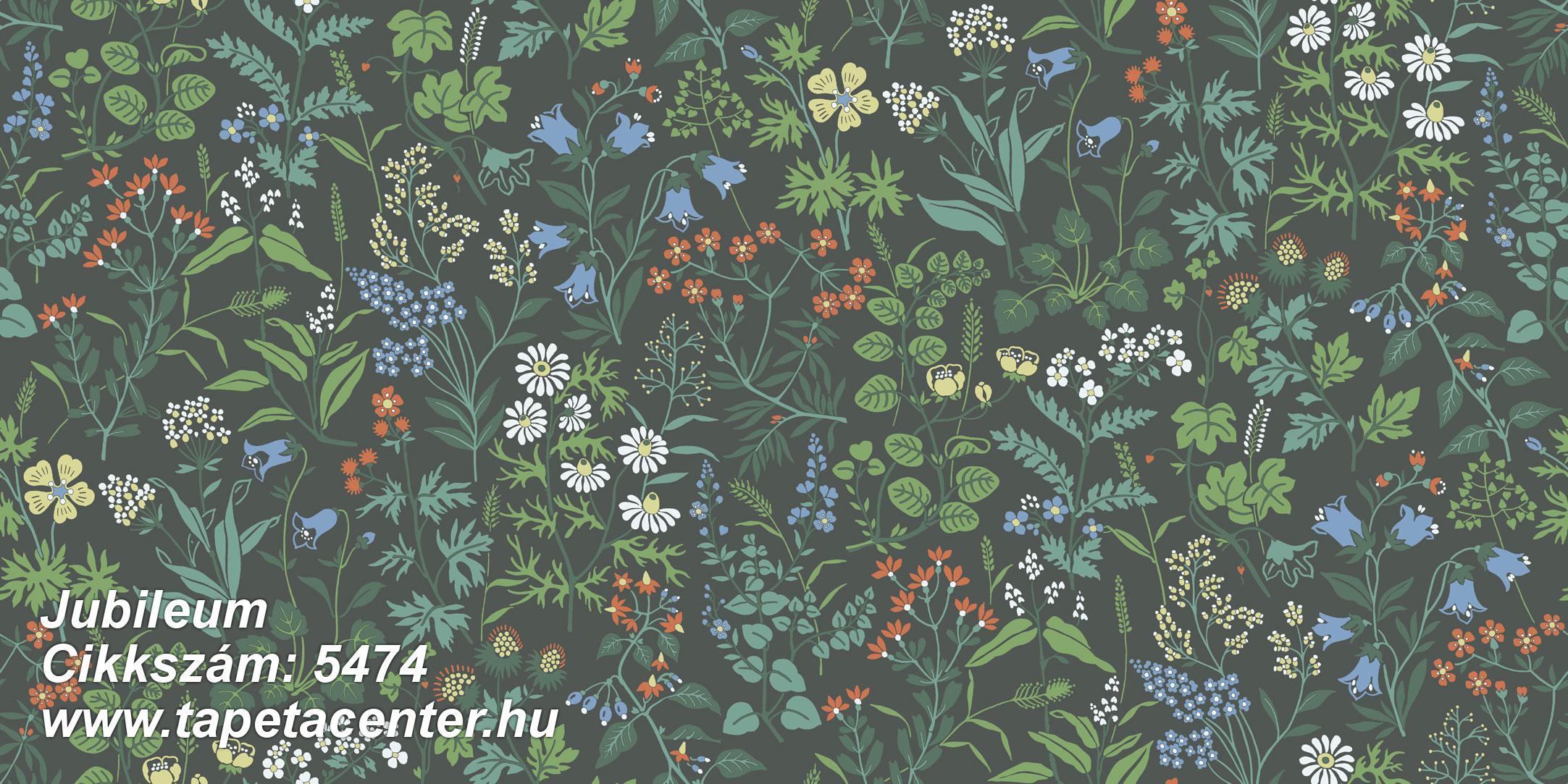 Rajzolt,retro,természeti mintás,virágmintás,fehér,fekete,kék,piros-bordó,sárga,zöld,gyengén mosható,vlies tapéta