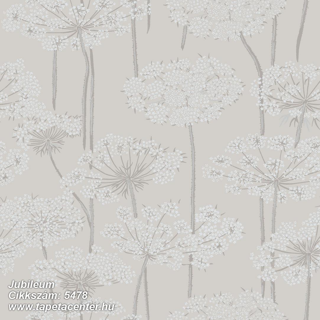 Retro,természeti mintás,virágmintás,bézs-drapp,szürke,lemosható,vlies tapéta