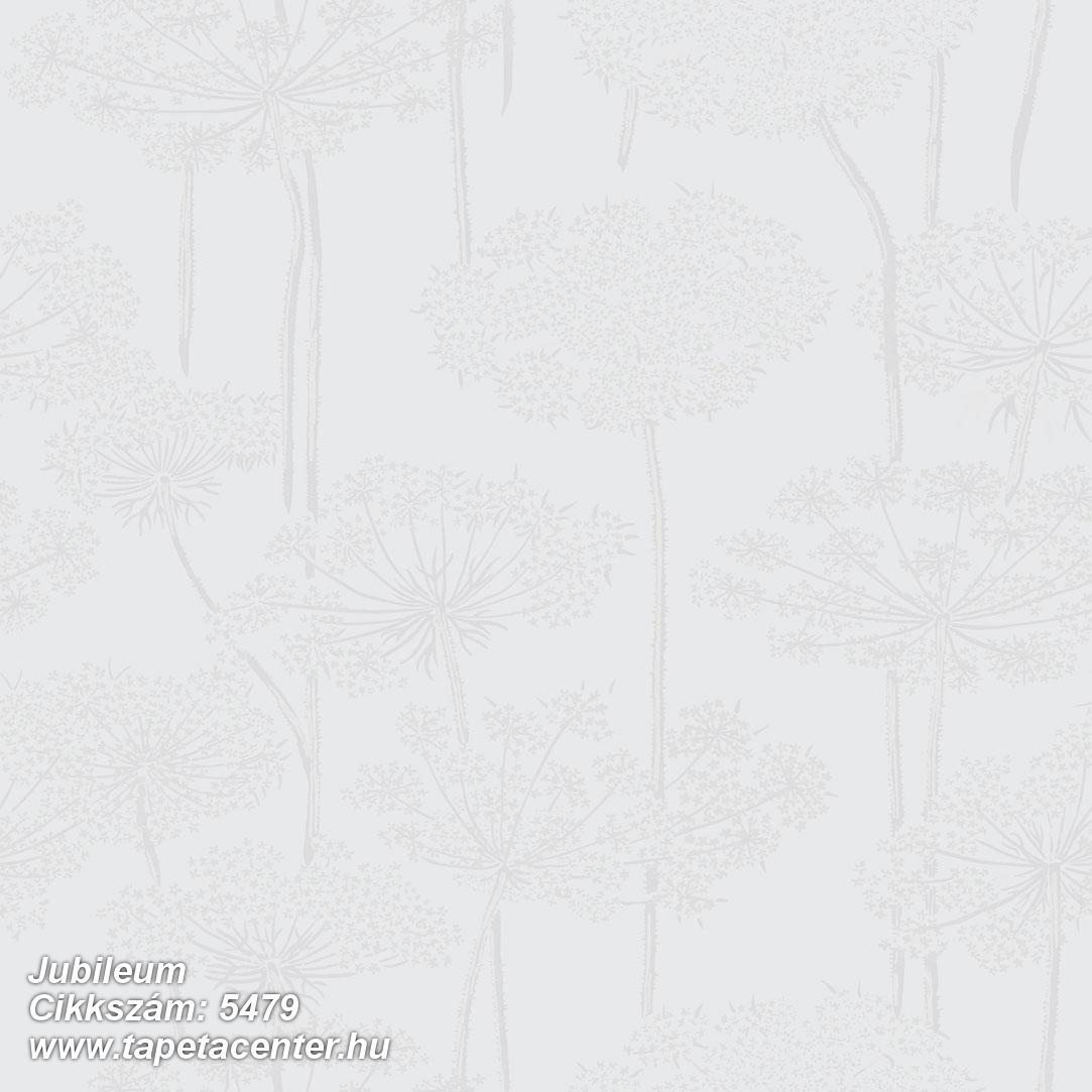 Retro,természeti mintás,virágmintás,fehér,szürke,lemosható,vlies tapéta