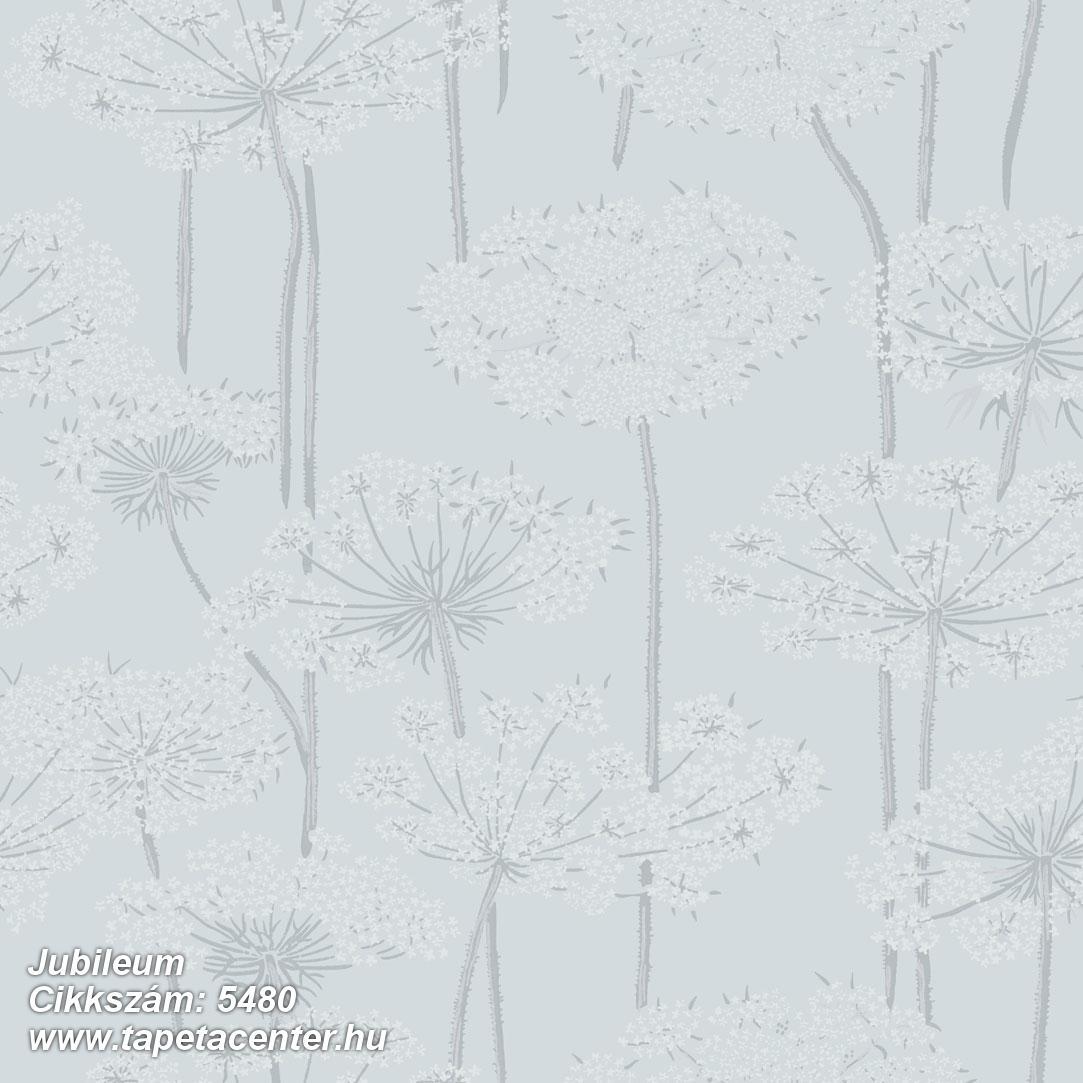 Retro,természeti mintás,virágmintás,kék,szürke,lemosható,vlies tapéta