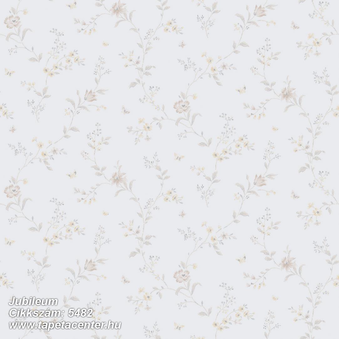 Retro,természeti mintás,virágmintás,barna,bézs-drapp,szürke,lemosható,vlies tapéta