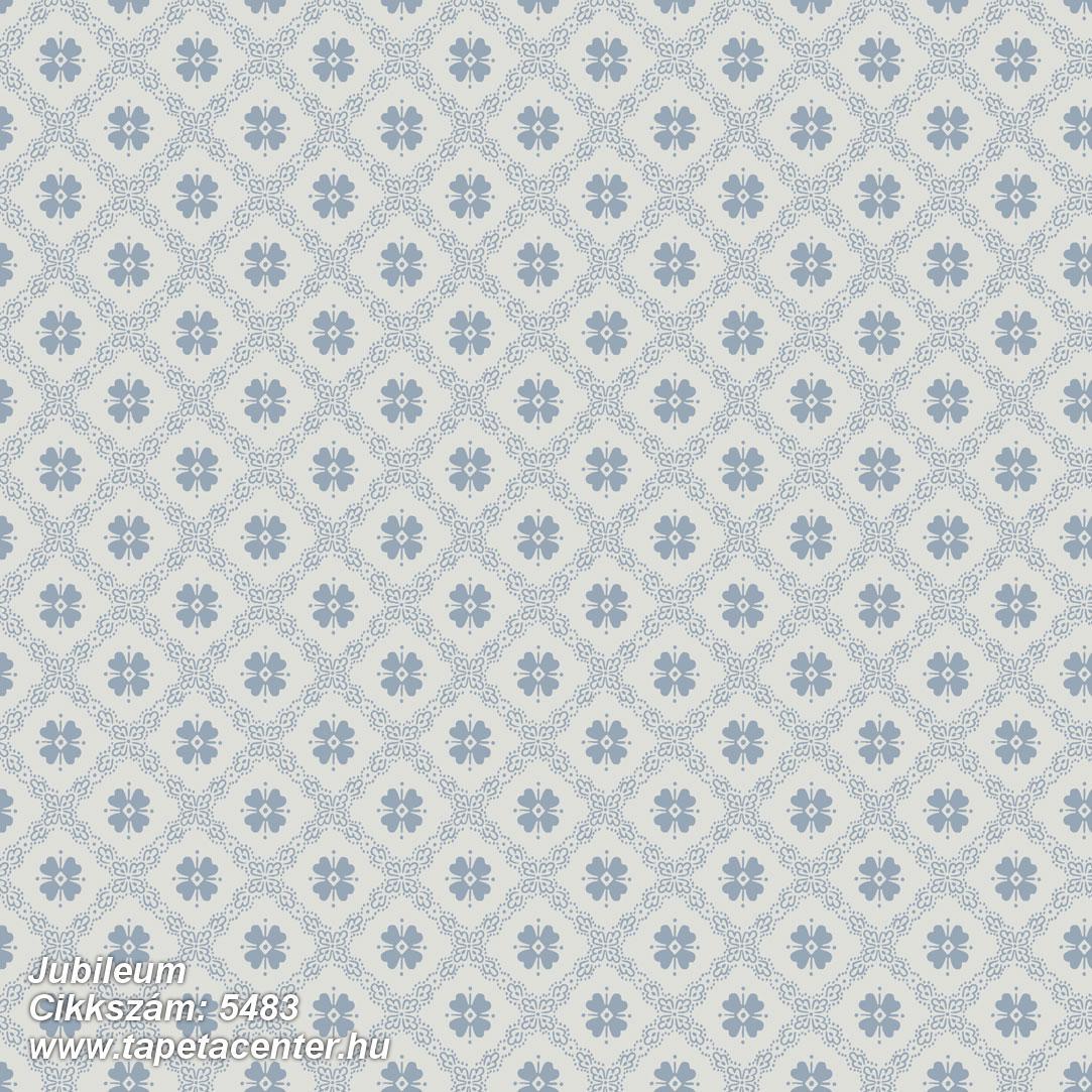 Geometriai mintás,kockás,virágmintás,kék,szürke,lemosható,vlies tapéta