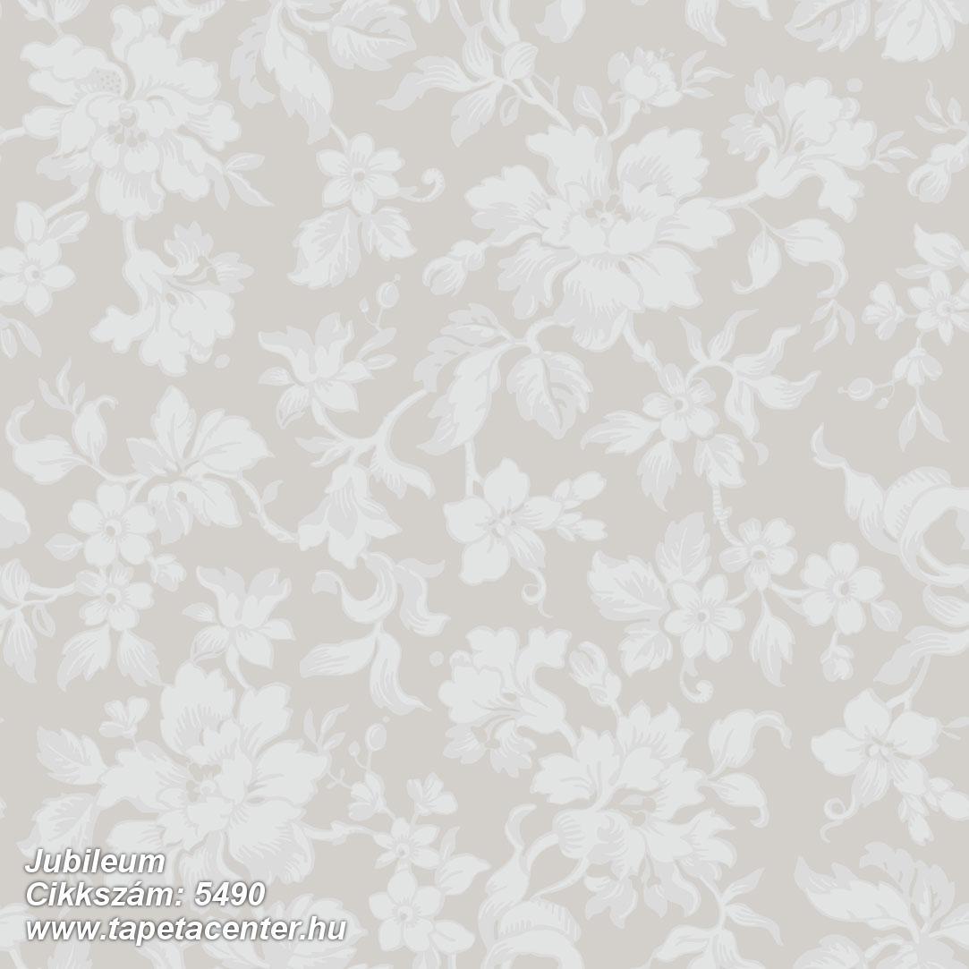 Virágmintás,bézs-drapp,fehér,lemosható,vlies tapéta