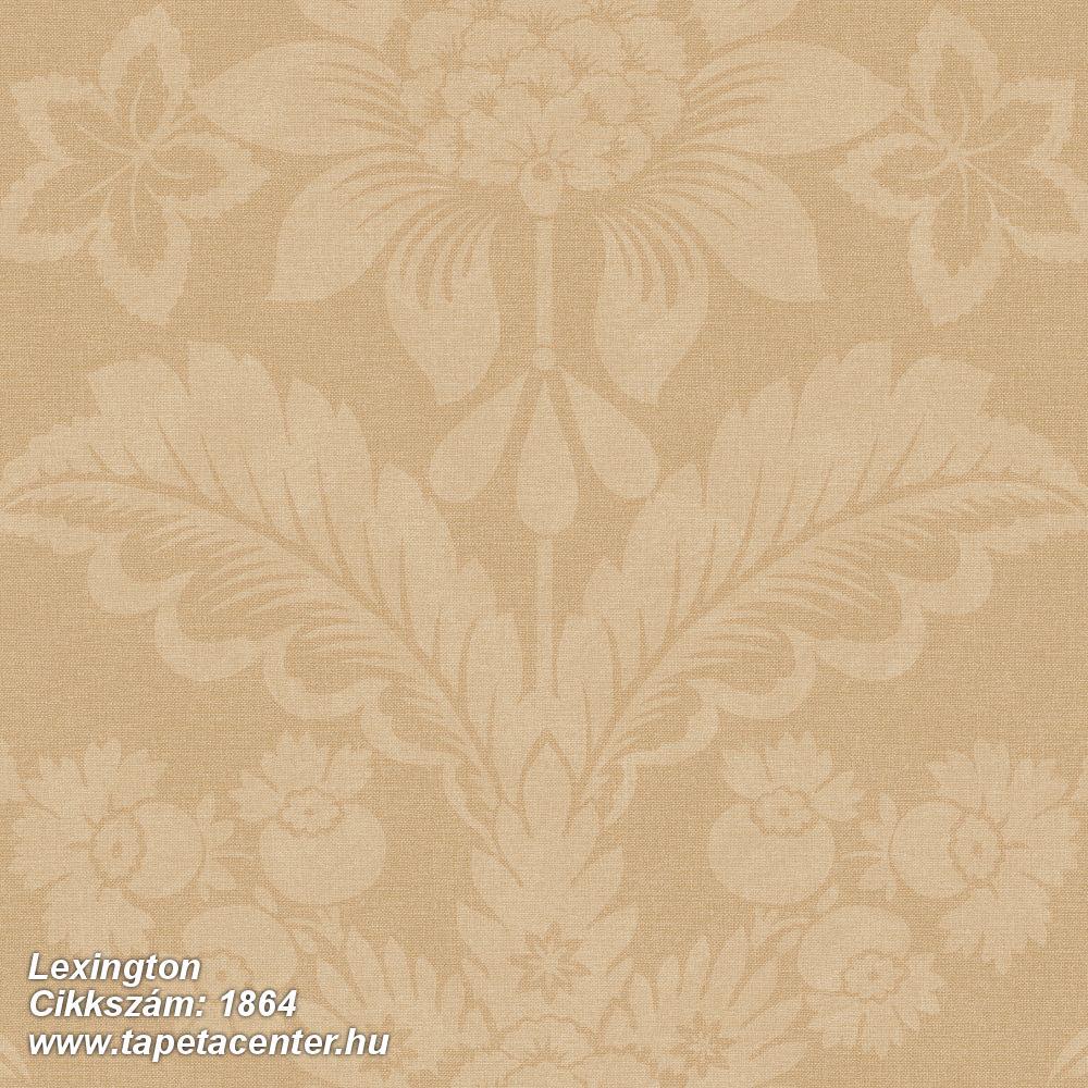 Barokk-klasszikus,virágmintás,arany,barna,lemosható,vlies tapéta