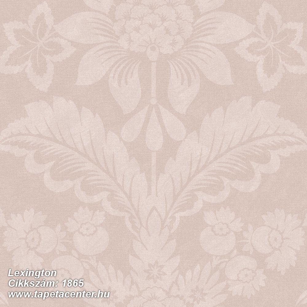 Barokk-klasszikus,virágmintás,pink-rózsaszín,lemosható,vlies tapéta