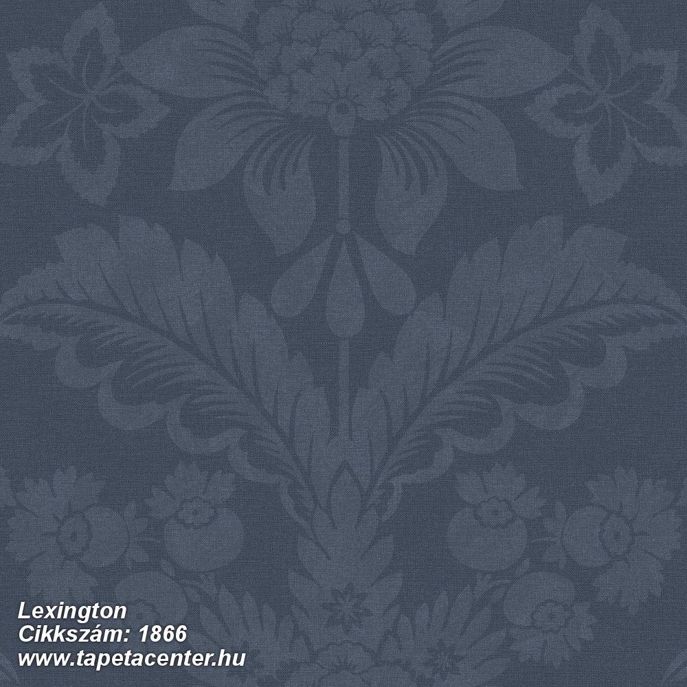 Barokk-klasszikus,virágmintás,fekete,szürke,lemosható,vlies tapéta